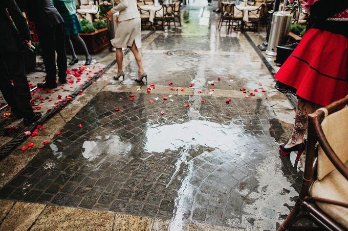 Olga and Volker Rainy Day Wedding by Dasha Elfutina - 035