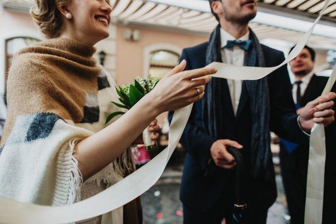 Olga and Volker Rainy Day Wedding by Dasha Elfutina - 037