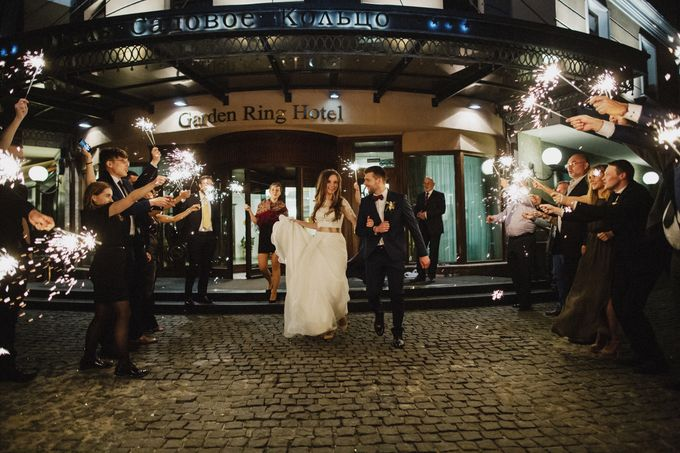 Anna and Roman Wedding by Dasha Elfutina - 046