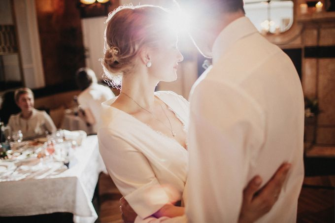 Olga and Volker Rainy Day Wedding by Dasha Elfutina - 045