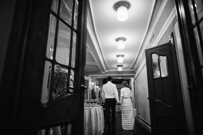 Olga and Volker Rainy Day Wedding by Dasha Elfutina - 050