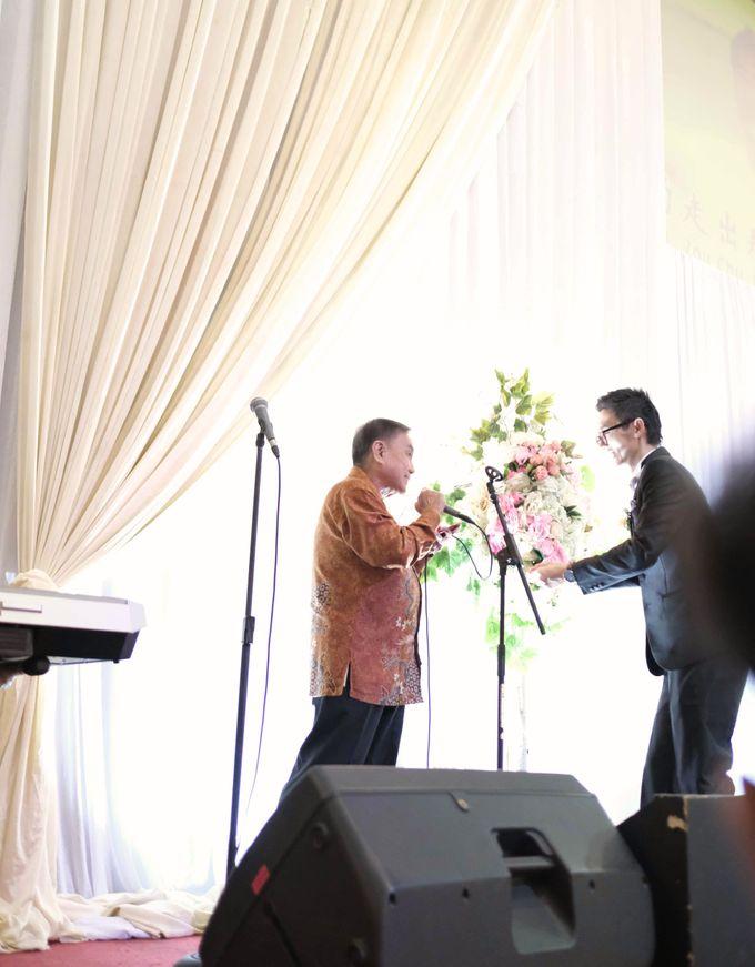 Reception of Sebastian & Sheila by Kayika Wedding Organizer - 009