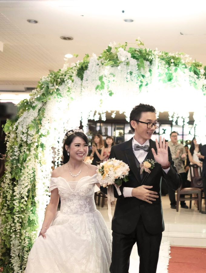 Reception of Sebastian & Sheila by Kayika Wedding Organizer - 001