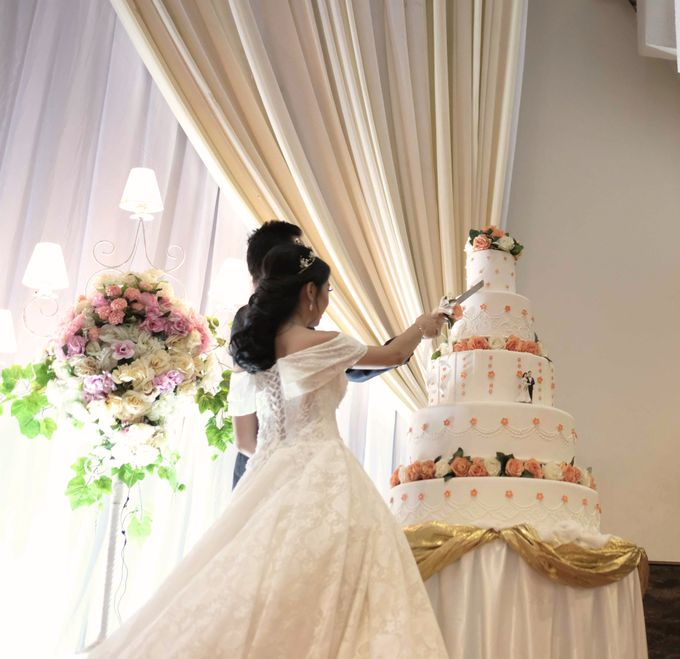 Reception of Sebastian & Sheila by Kayika Wedding Organizer - 002