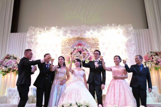 Reception of Sebastian & Sheila by Kayika Wedding Organizer - 006