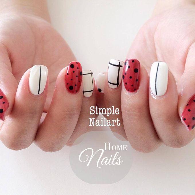 Nails for Bridesmaid by Home Nails - 002