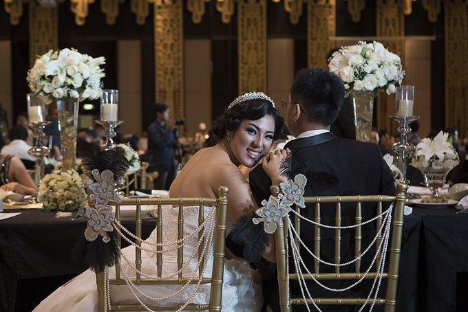 Gatsby Theme Wedding - Ivan and Irene by Magnifica Organizer - 005