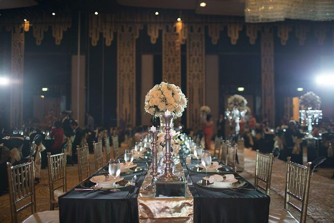Gatsby Theme Wedding - Ivan and Irene by Magnifica Organizer - 006