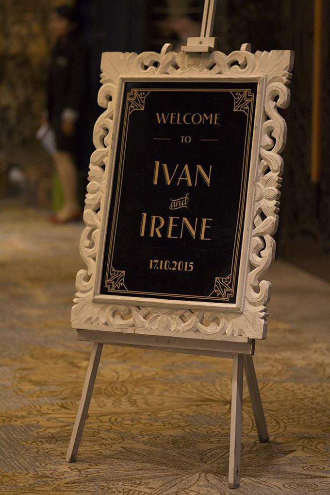 Gatsby Theme Wedding - Ivan and Irene by Magnifica Organizer - 007