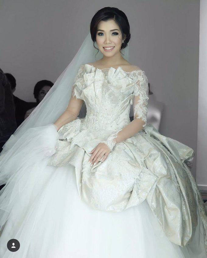 Wedding Gown for Mrs Ribka by Yes I Do Photographer - 008