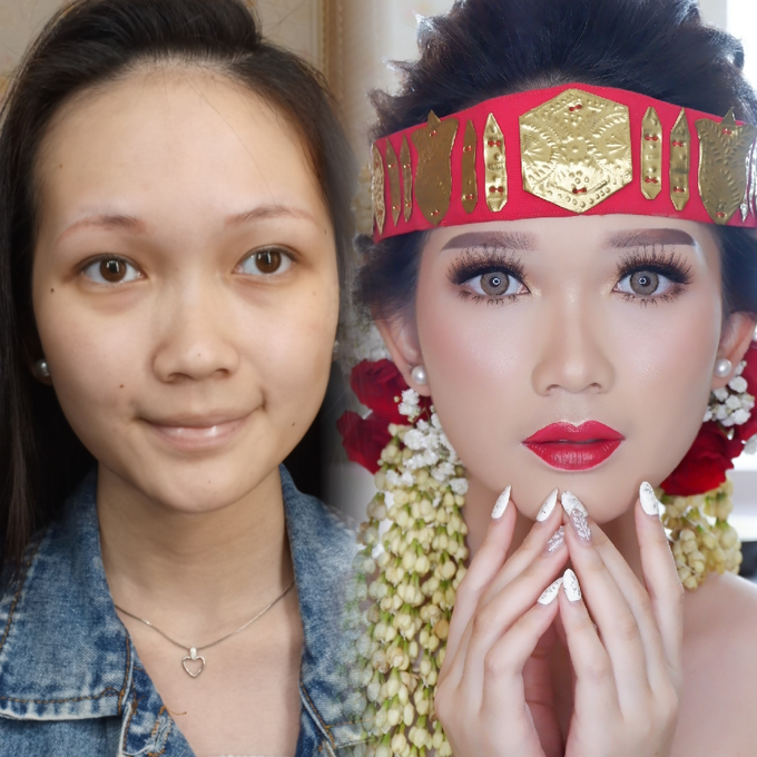 Natural Wedding Makeup 2019 by AngeLin Bridal - 002