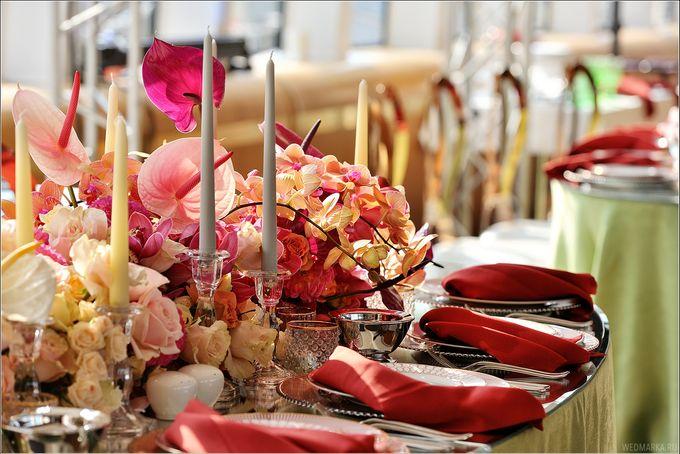 Autumn Dinner Decor by Maria German decor - 006