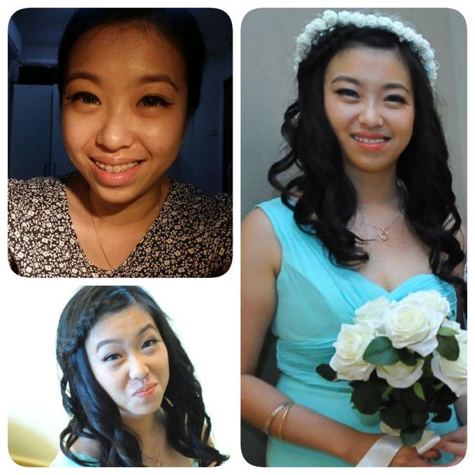 Bridesmaids makeup by Be-You-Tiful by Taridays - 006