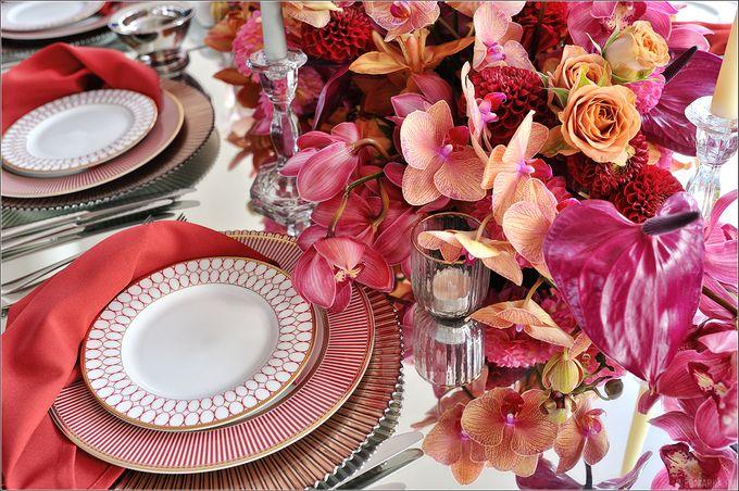 Autumn Dinner Decor by Maria German decor - 010