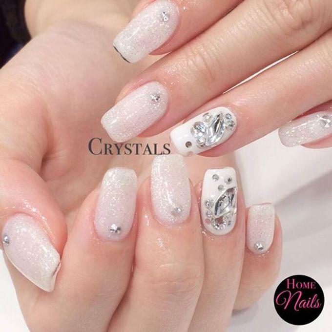 Nails for Bridesmaid by Home Nails - 003