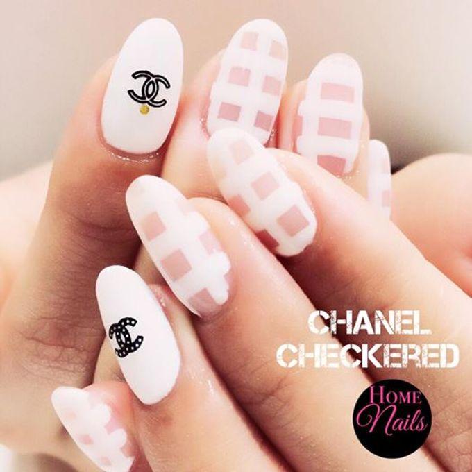 Nails for Bridesmaid by Home Nails - 004