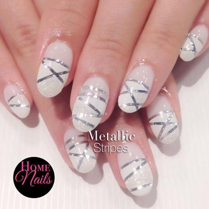 Nails for Bridesmaid by Home Nails - 005
