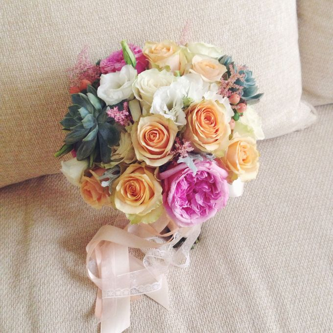 Wedding Bouquet by Twigs and Twine - 001