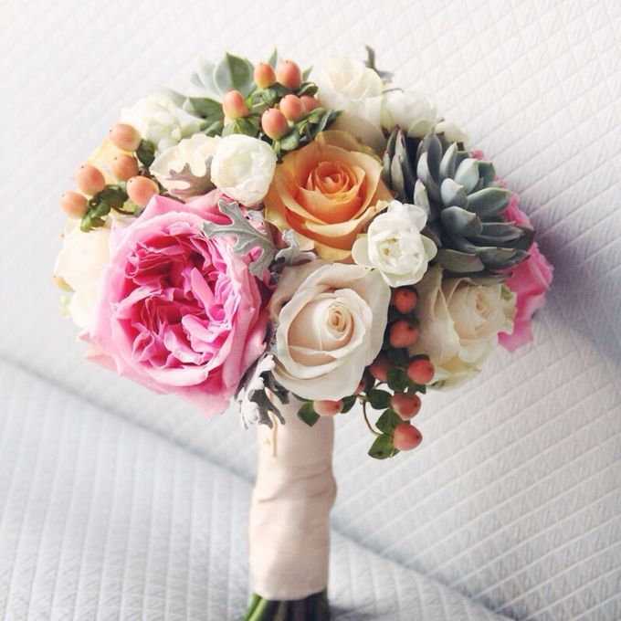 Wedding Bouquet by Twigs and Twine - 005