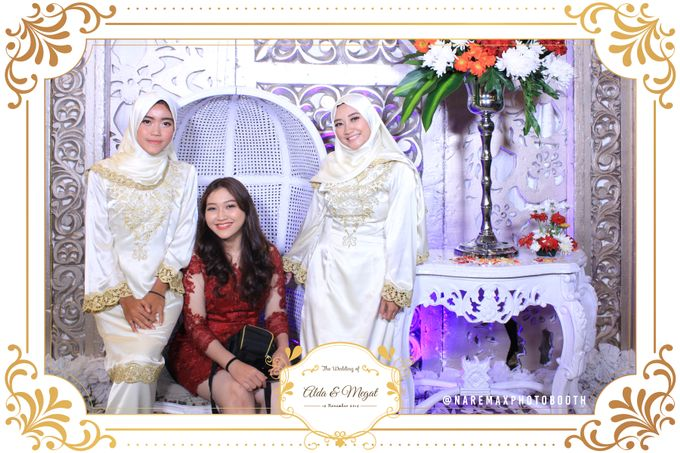 The Wedding of Alda & Megat by NAREMAX Photo Booth - 002