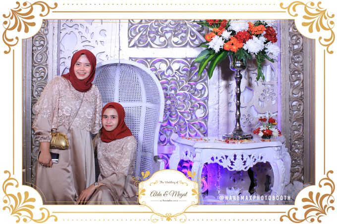 The Wedding of Alda & Megat by NAREMAX Photo Booth - 003