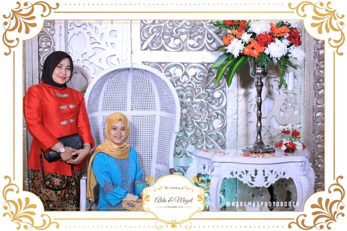 The Wedding of Alda & Megat by NAREMAX Photo Booth - 004