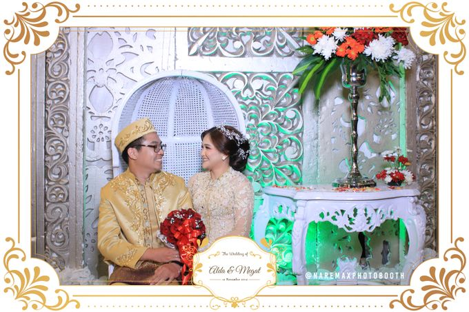 The Wedding of Alda & Megat by NAREMAX Photo Booth - 001