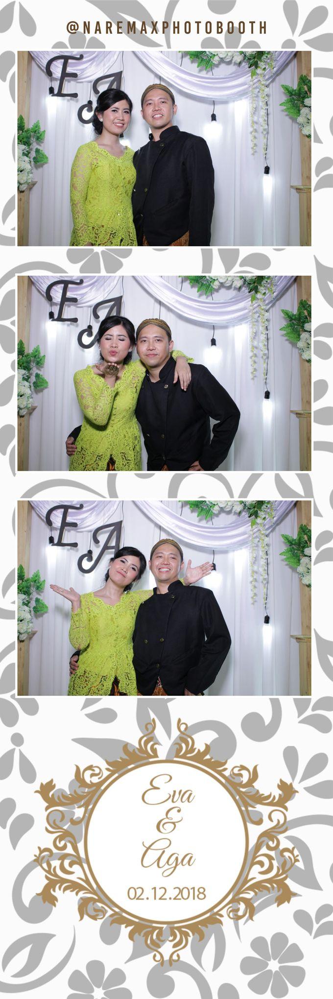 The Wedding of Eva & Aga by NAREMAX Photo Booth - 003