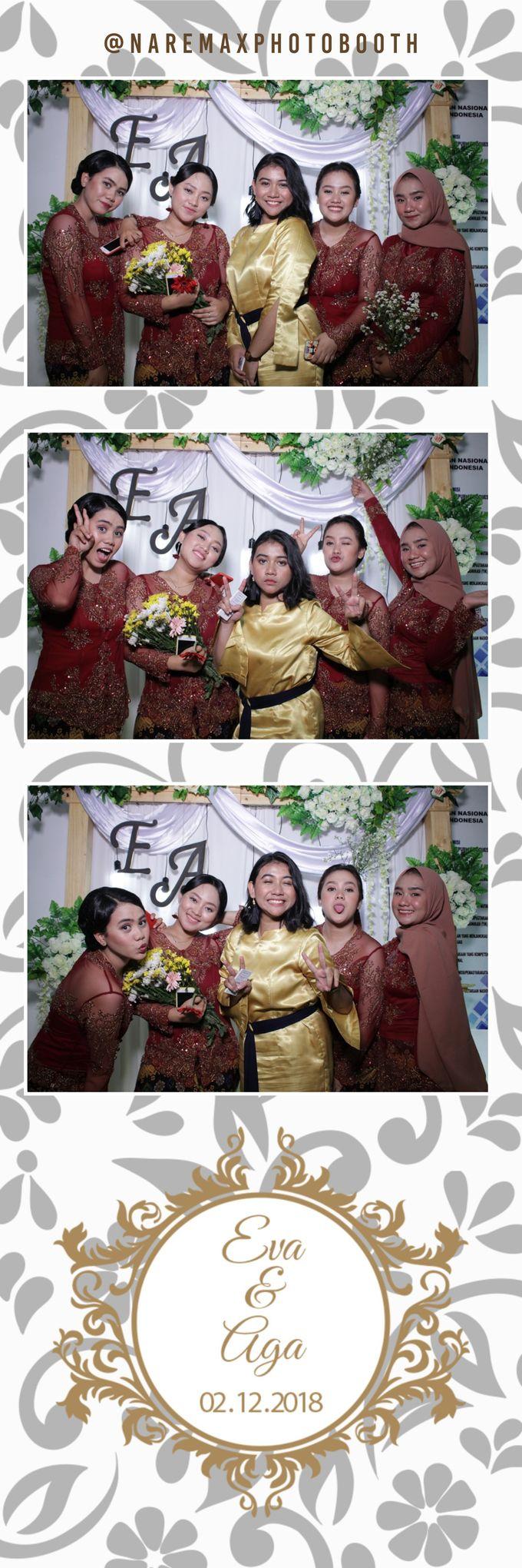 The Wedding of Eva & Aga by NAREMAX Photo Booth - 002
