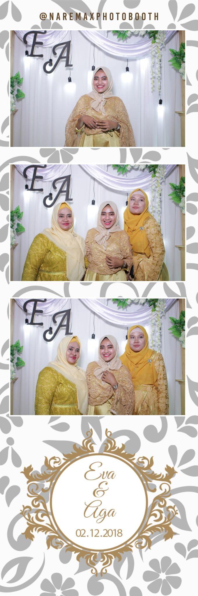 The Wedding of Eva & Aga by NAREMAX Photo Booth - 004
