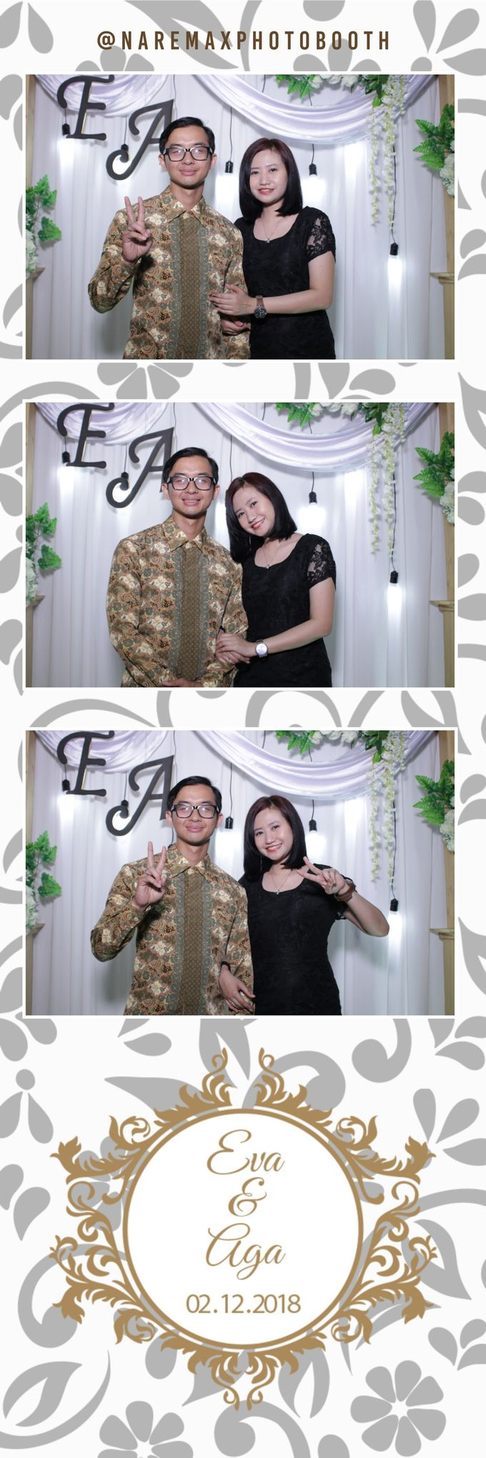 The Wedding of Eva & Aga by NAREMAX Photo Booth - 005