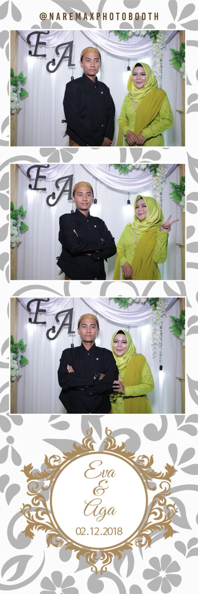 The Wedding of Eva & Aga by NAREMAX Photo Booth - 001