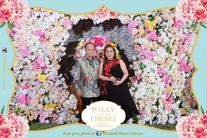 Photo Corner & Instagram Live Printing The wedding of Willy & Chenli by Cocktail Photo Corner - 002