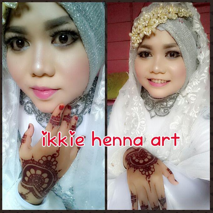 Red Henna by Ikkie henna art - 027