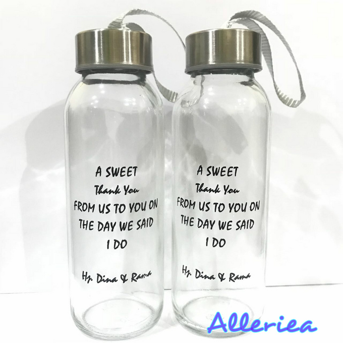 Glass Tumbler by Alleriea Wedding Gifts - 018