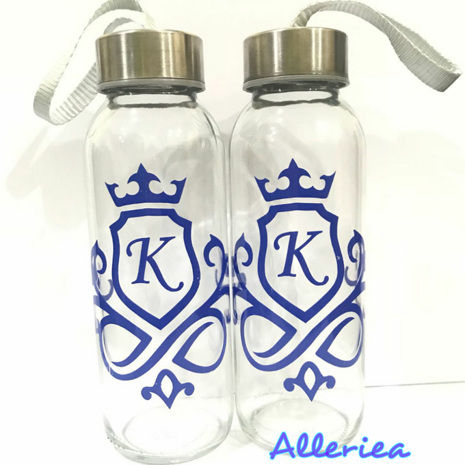Glass Tumbler by Alleriea Wedding Gifts - 017