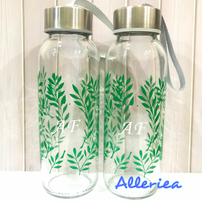Glass Tumbler by Alleriea Wedding Gifts - 020