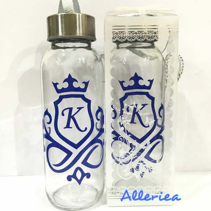 Glass Tumbler by Alleriea Wedding Gifts - 021