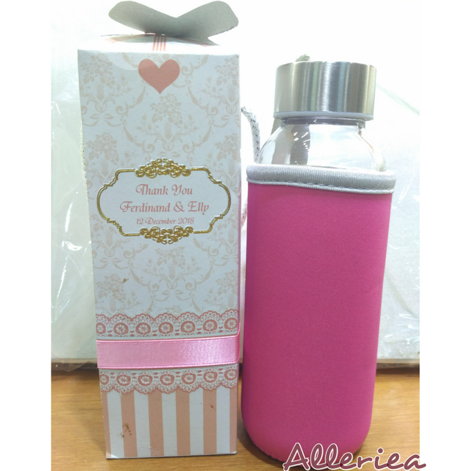 Glass Tumbler by Alleriea Wedding Gifts - 024