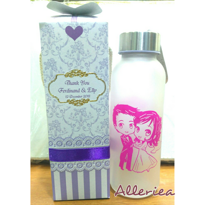 Glass Tumbler by Alleriea Wedding Gifts - 023