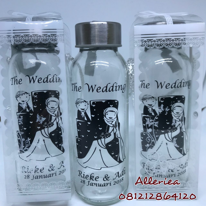 Glass Tumbler by Alleriea Wedding Gifts - 031