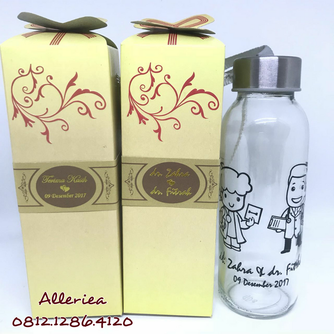 Glass Tumbler by Alleriea Wedding Gifts - 029