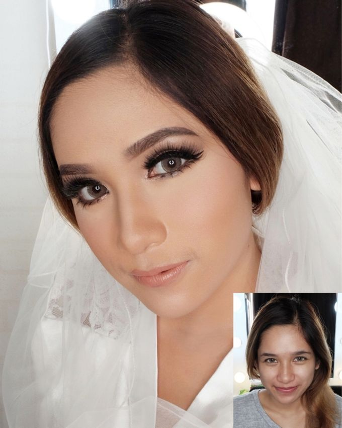 Cempaka (Wedding Airbrush Makeup) by MarisaFe Bridal - 008