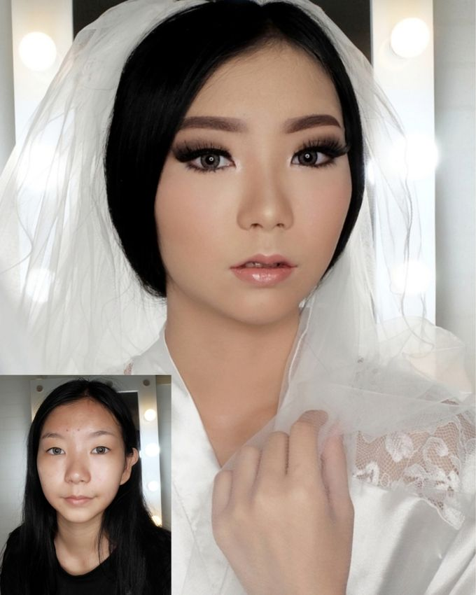 Linda (Wedding Airbrush Makeup - Monolid) by MarisaFe Bridal - 007