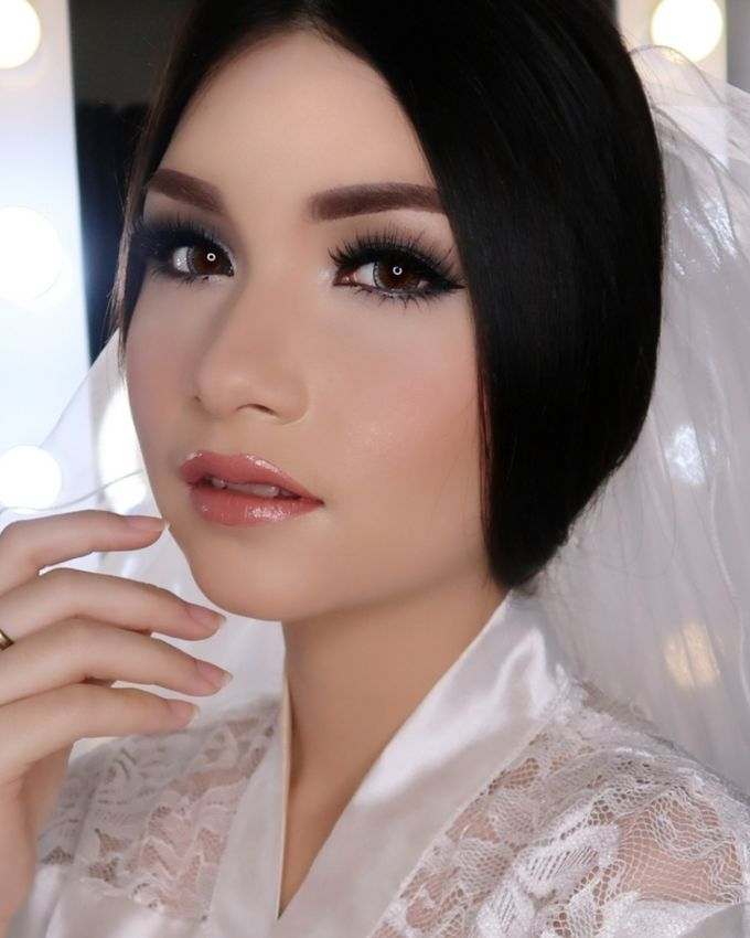 Ms. Ivy (Wedding Airbrush Makeup) by MarisaFe Bridal - 007