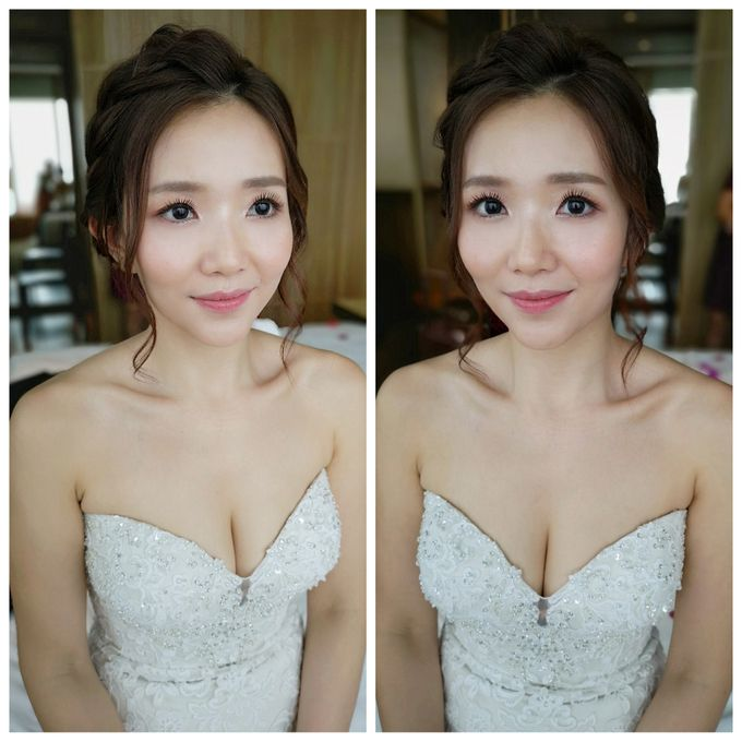 Bride Jia Yi ❤️ by Shino Makeup & Hairstyling - 004