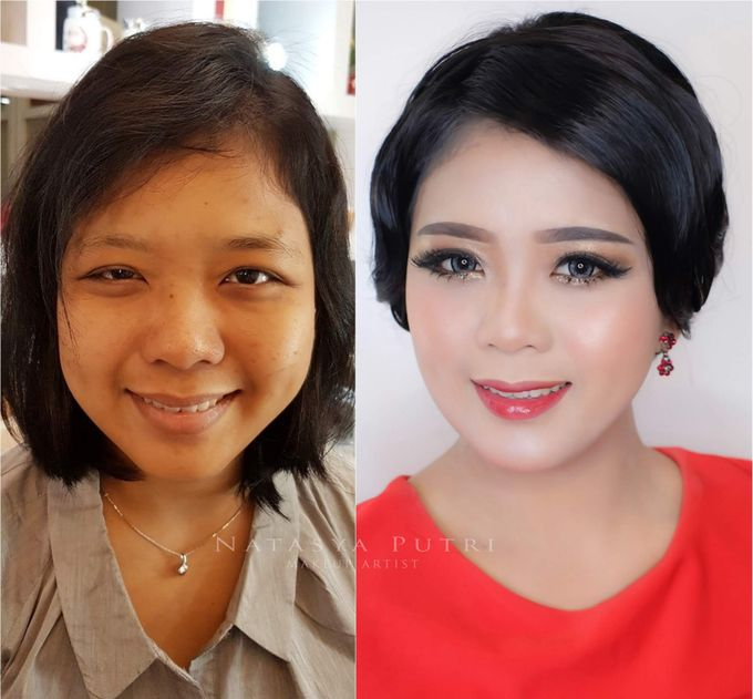 Before And After by Natasya Putri Makeup Artist - 002