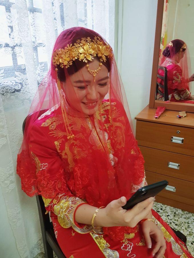 Wedding KUA Traditional Chinese by Angel Chua Lay Keng Makeup and Hair - 001