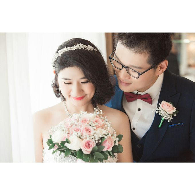 Simple Wedding In Sky Chapel by Double Happiness Wedding Organizer - 002