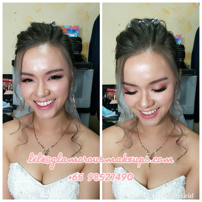 Cordelia (Airbrush Bridal Makeup) by Lili Makeup Specialist - 004